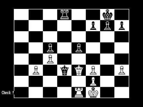 Bluebush Chess: The Game of Kings (Bluebush Software) (MS-DOS) [1983]