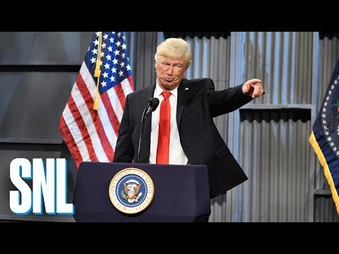 Donald Trump Trucker Rally Cold Open - SNL