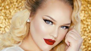 Vintage Glam PROM Makeup Tutorial ∙ RuPaul Inspired