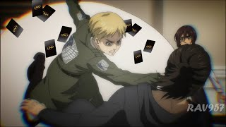 Eren Plays UNO With Armin And Mikasa