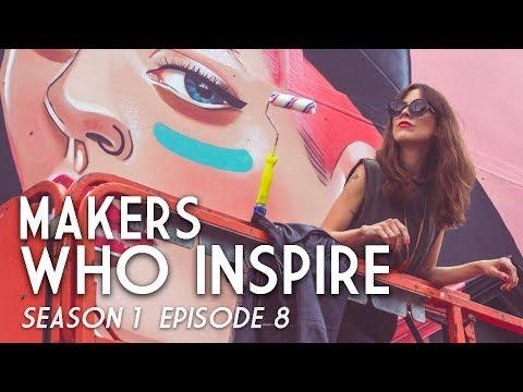 Lisa King - Mural Artist   MAKERS WHO INSPIRE