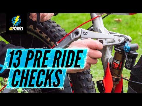 13 E Bike Pre Ride Checks | EMTB Maintenance Tips