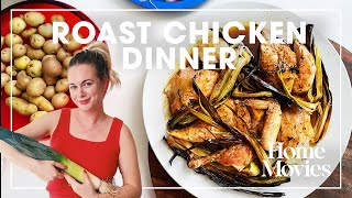 Easy Roast Chicken Dinner with Crispy Leeks | Home Movies with Alison Roman