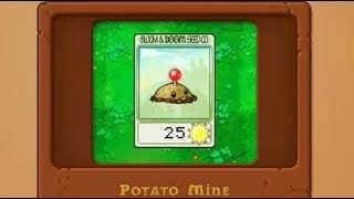 5 Plants vs  Zombies How to Play Basics and how to get the Potato Mine