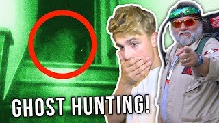 INSANE GHOST HUNTING ON TOUR... *OMG**
