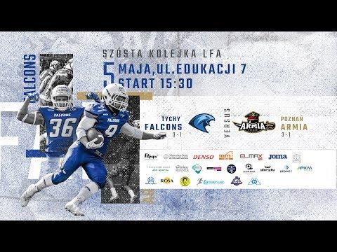 LFA1 2019: Tychy Falcons vs Armia Poznań