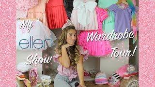 MY ELLEN SHOW WARDROBE TOUR! | Rosie McClelland