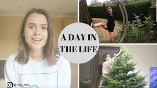 A Day In The Life - MS at 24 | Food, Disease Update, Xmas Tree Decorating FAIL
