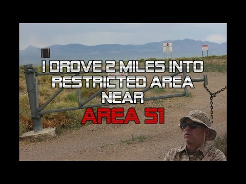 I Drove 2 Miles Into Restricted Area Near Area 51!