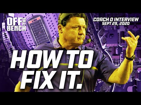 Ed Orgeron gives the blueprint on fixing LSU