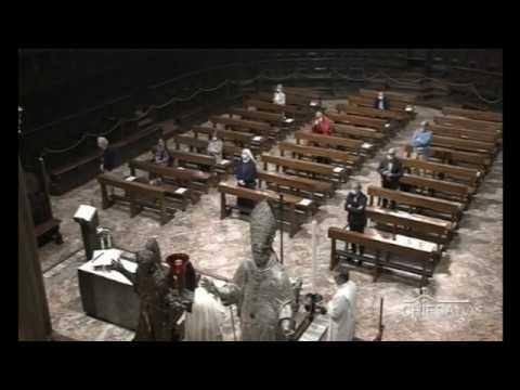 Lunedì 25 maggio 2020 ore 8,00 - Celebrazione dal Duomo di Milano