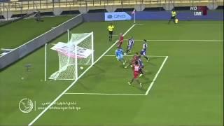 هدف لخويا الخامس يوسف المساكني - معيذر vs لخويا - دوري نجوم قطر