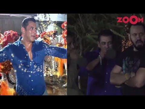 Salman Khan gets TROLLED for smoking during Ganpati Visarjan