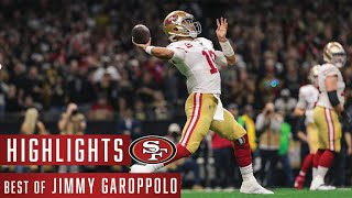 Jimmy Garoppolo's Best Plays from 2019