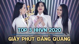 TOP 3 HOA HẬU VIỆT NAM 2020 - Giây phút đăng quang
