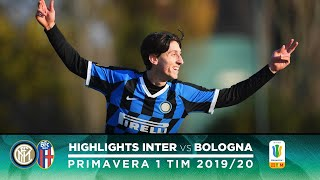 INTER 4-0 BOLOGNA   PRIMAVERA HIGHLIGHTS   A hat-trick from Mulattieri!