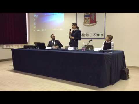 Agata Cabino dirigete della Divisione Pasi della Questura Ancona