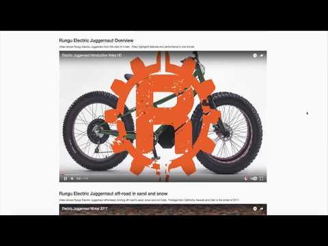 """RUNGU Electric Juggernaut: El juguete de los """"mayores"""""""