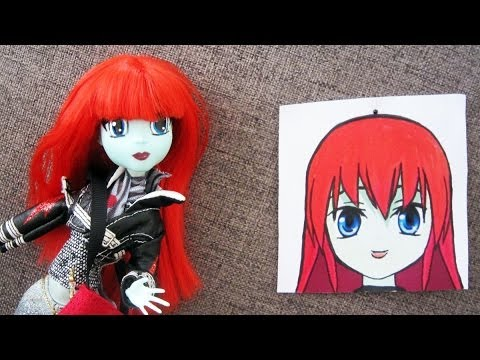 Monster High Make-up Transformation: From MH to Animation