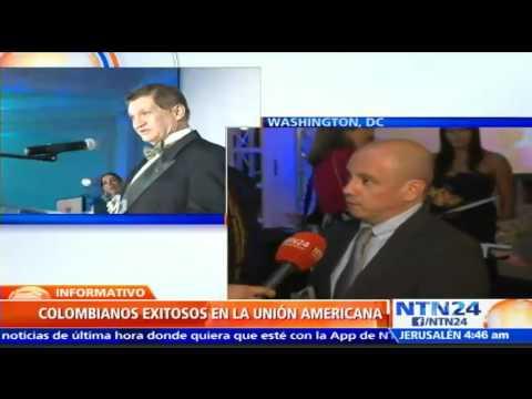 Embajada de Col junto a RCN Televisión y NTN24 rinden homenaje a 22 colombianos en Estados Unidos P3