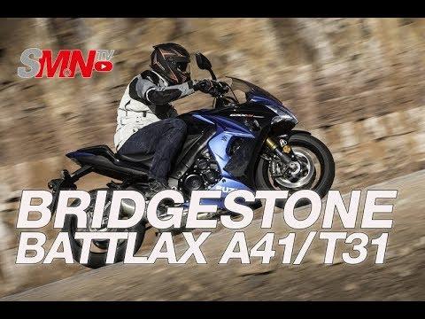 Prueba Bridgestone Battlax A41 y T31 2018 [FULLHD]