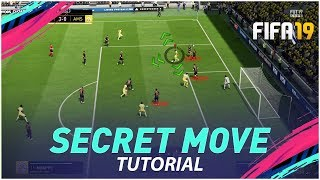 FIFA 19 SECRET MOVE PRO's ARE USING TO SCORE MORE GOALS - THIS IS SO EFFECTIVE !!!!