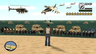 What Happens If You Get 10 Stars in GTA San Andreas? (Secret Cheat Code)