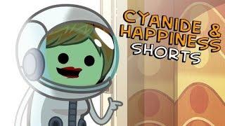 Astronaut Mom - Cyanide & Happiness Shorts