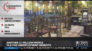 Another 2.1 Million People File For Unemployment Benefits