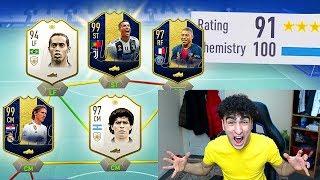 191 RATED? - FIFA 19 BREAKING 190 FUT DRAFT RECORD! (FIFA 19 TOTY FUT DRAFT)