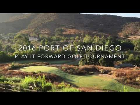 Second Annual Port of San Diego Play it Forward Golf Tournament