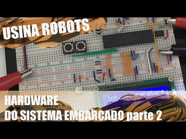 HARDWARE DO SISTEMA EMBARCADO (p2) | Usina Robots US-2 #077