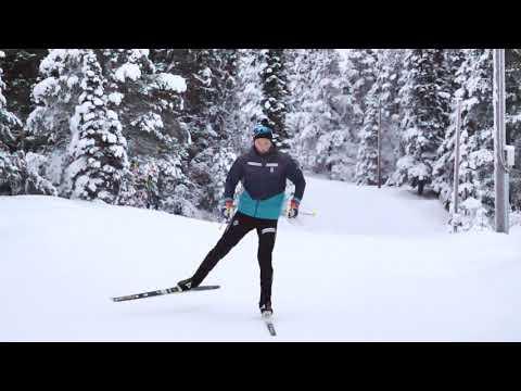 Johannes Høsflot Klæbo - Teknikkvideo langrenn skøyting