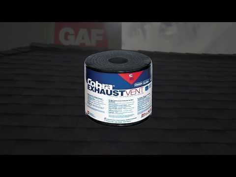 Ventilación Para Ático Cobra Exhaust – Instalación Básica | GAF Serie Pro