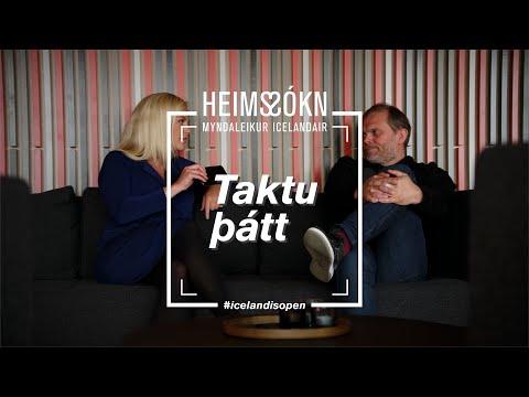 Gummi leitar til Evu Laufeyjar, síns aðalkeppinautar, fyrir aðstoð í heims-sókn   Icelandair