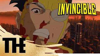 (HD, 60FPS) Omni-man DESTROYS Subway | Invincible | Season 1 Finale | Episode 8#invincible
