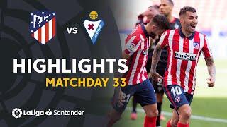 Highlights Atletico Madrid vs SD Eibar (5-0)