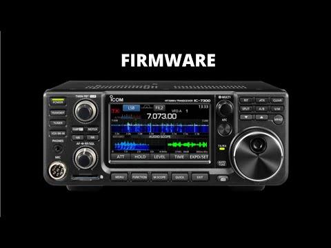 Icom IC-7300 Firmware Update - 7300-140 2/26/21