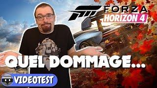 Vidéo-Test : FORZA HORIZON 4 TEST : C'EST VRAIMENT DOMMAGE...