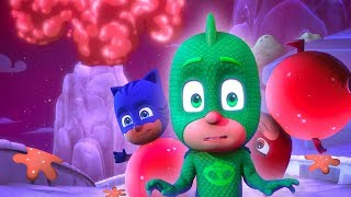 PJ Masks Full Episodes 🌋PJ Masks Sticky Splatcano! 🌋Mystery Mountain 🌋Superhero Cartoons for Kids