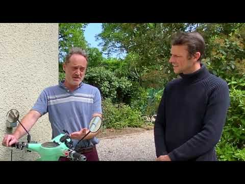 Des scooters électriques Pink pour les aides à domicile de Nouveau Souffle