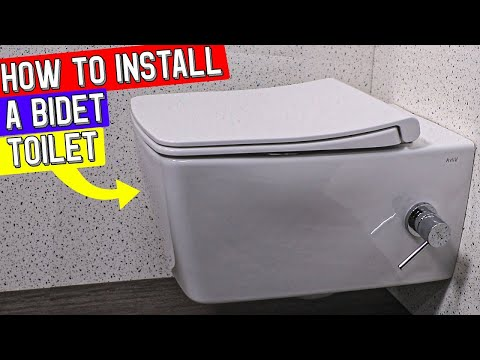 HOW TO INSTALL TOILET BIDET