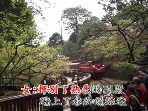 102年阿里山櫻花季-日出光彩