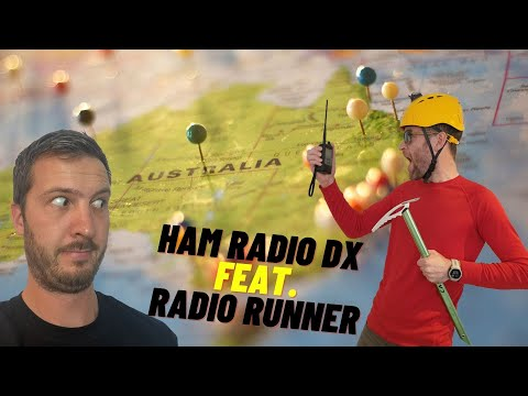 An Aussie and a Kiwi talk Ham Radio - with Chris ZL4RA (Radio Runner)