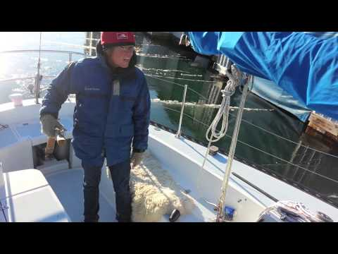 Electric Boat vs Ice - watch Bluefin 1 take on some unexpected ice