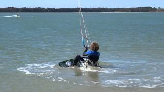 Cours de kitesurf - Comment faire un waterstart - One Launch Kiteboarding