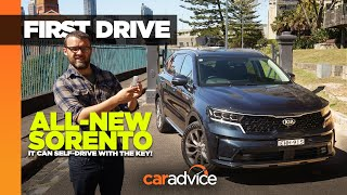 2021 Kia Sorento GT-Line Review | It Can Self-Drive With The Key!
