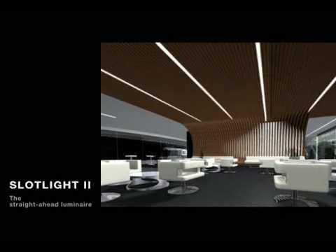 Zumtobel Lighting Slotlight Ii Youtube