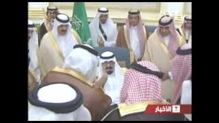 وصول خادم الحرمين الشريفين إلى جدة يوم الأحد 20 /6/ 1435هـ قادما من الرياض