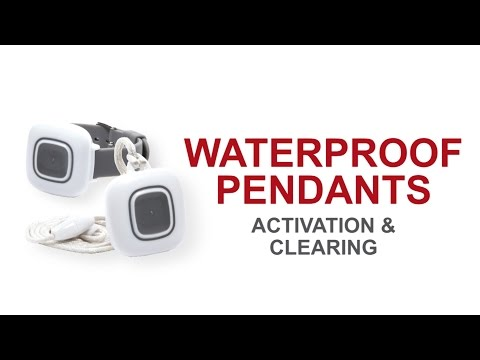 Waterproof Pendant Activation & Clearing